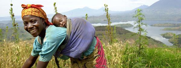 Rwanda, Rukira, February 2005