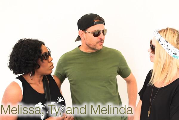 Melissa, Ty, & Melinda