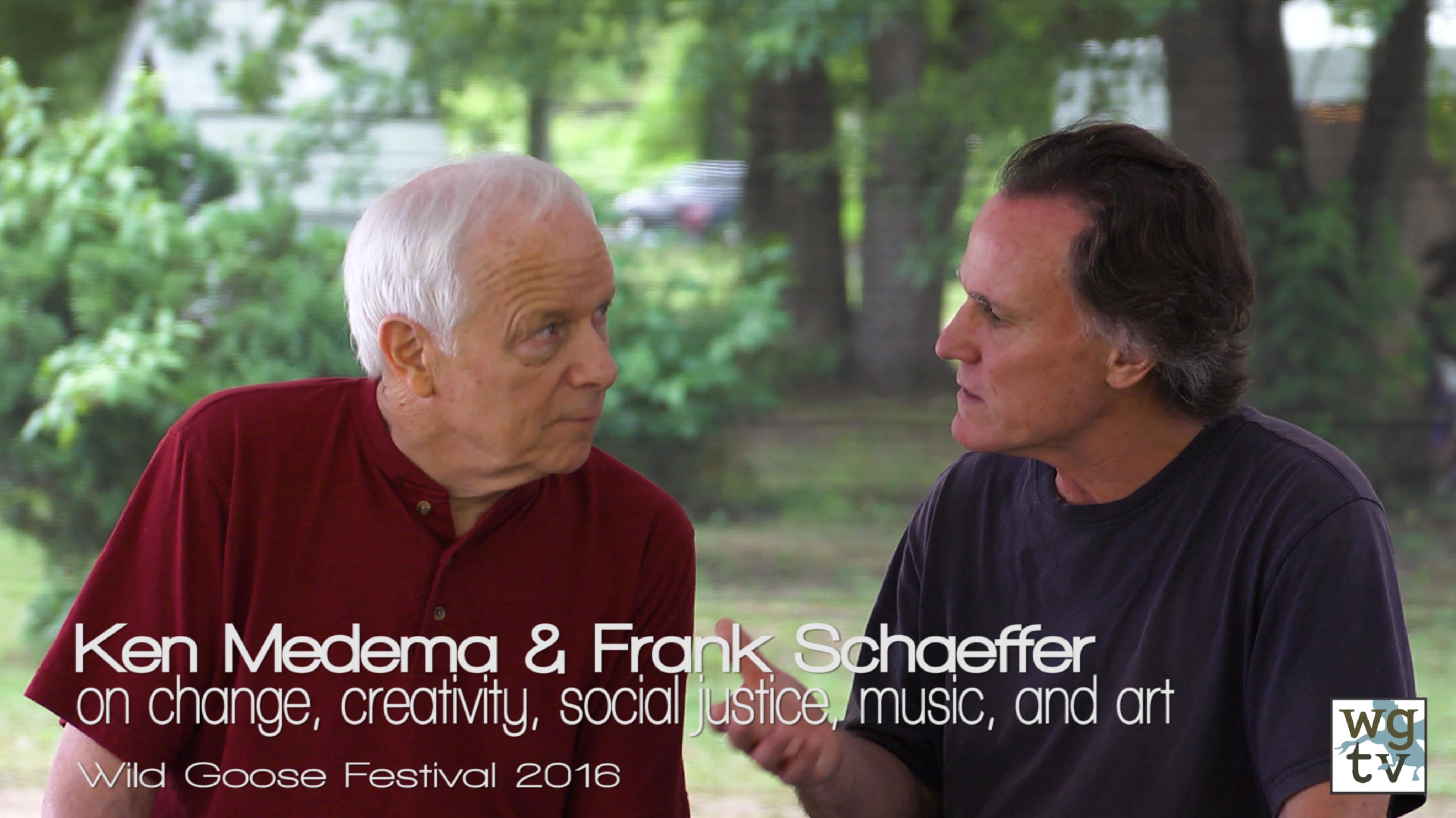Ken Medema and Frank Schaeffer