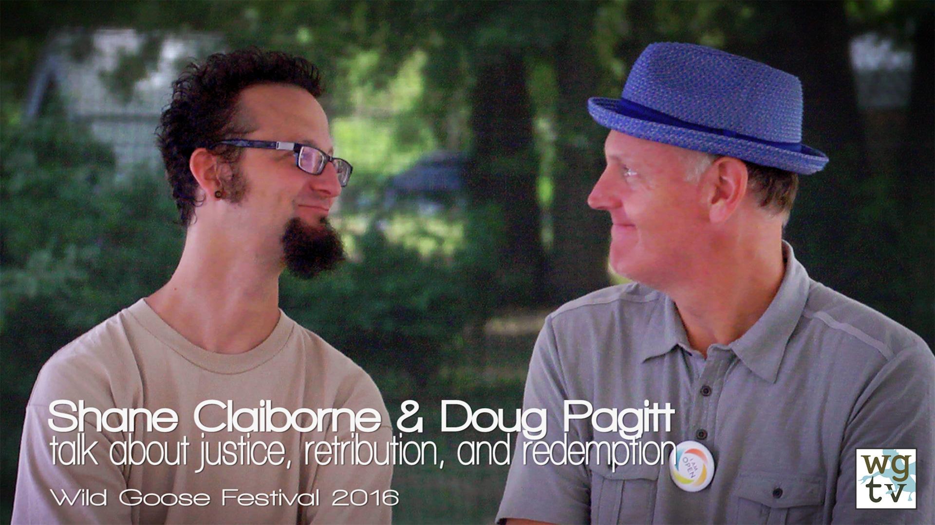 Shane Claiborne and Doug Pagitt