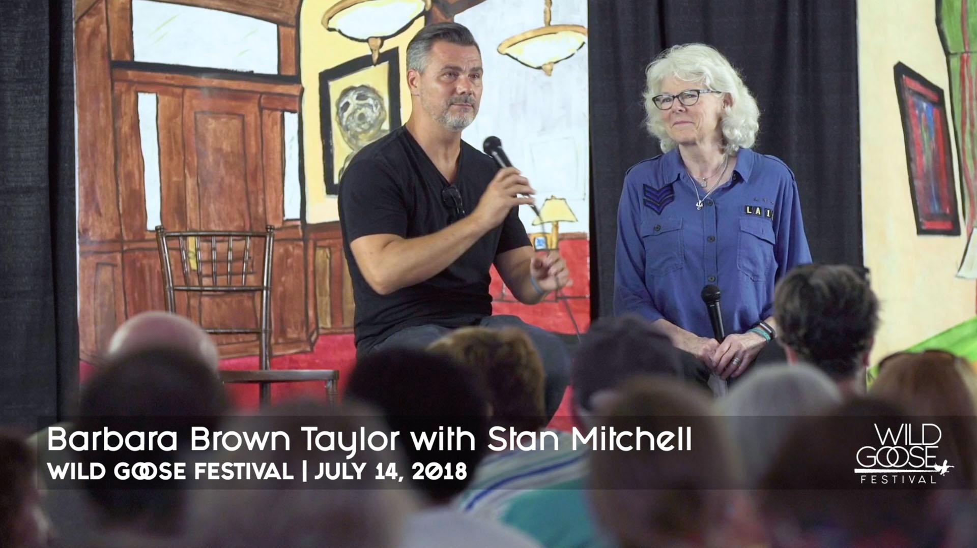 Barbara Brown Taylor & Stan Mitchell