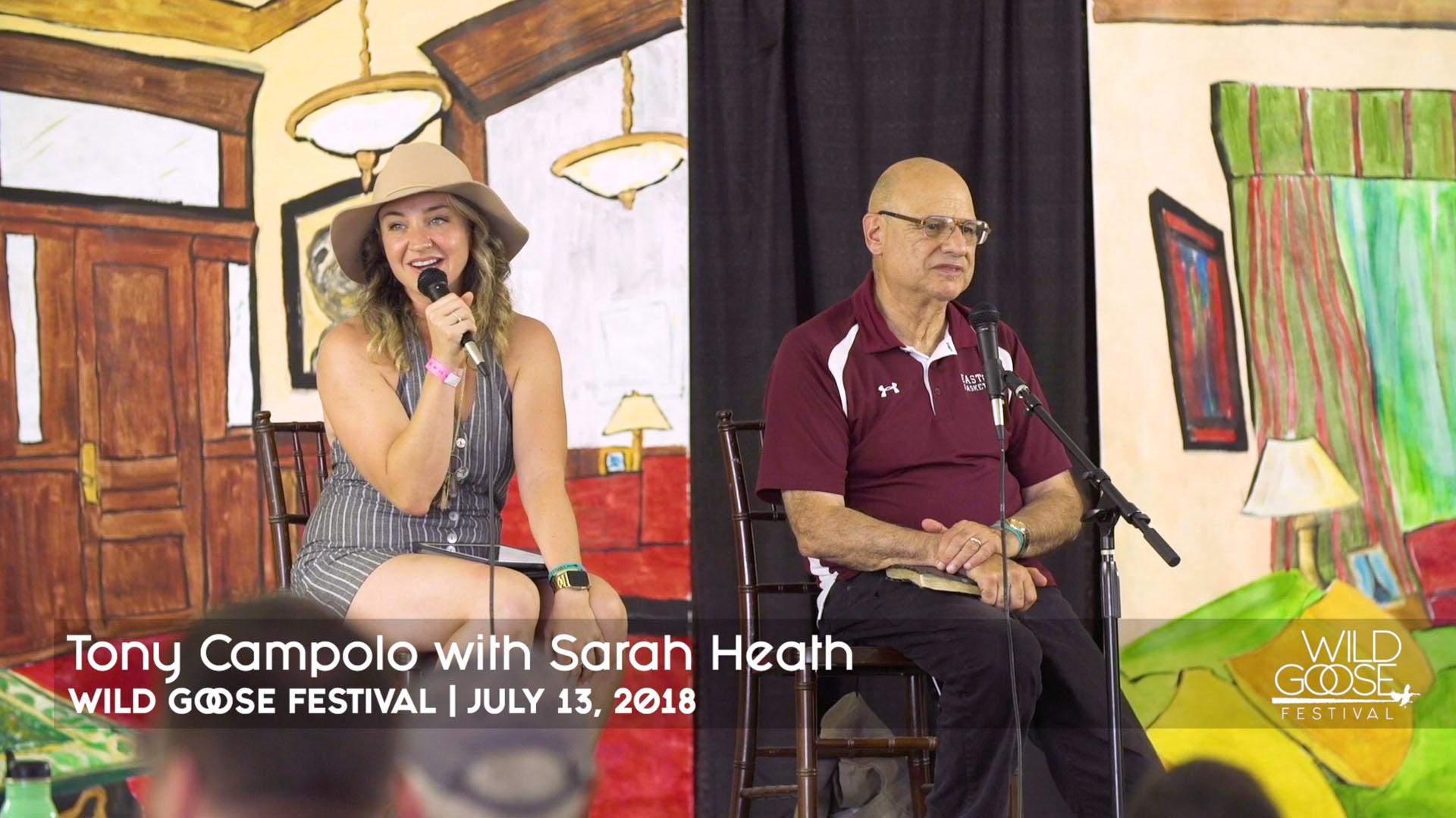 Tony Campolo & Sarah Heath