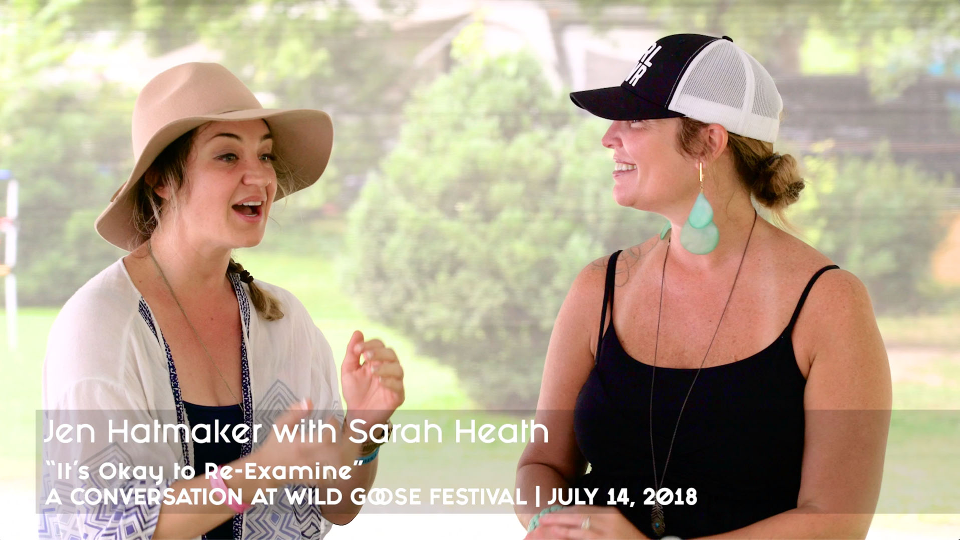 Jen Hatmaker with Sarah Heath
