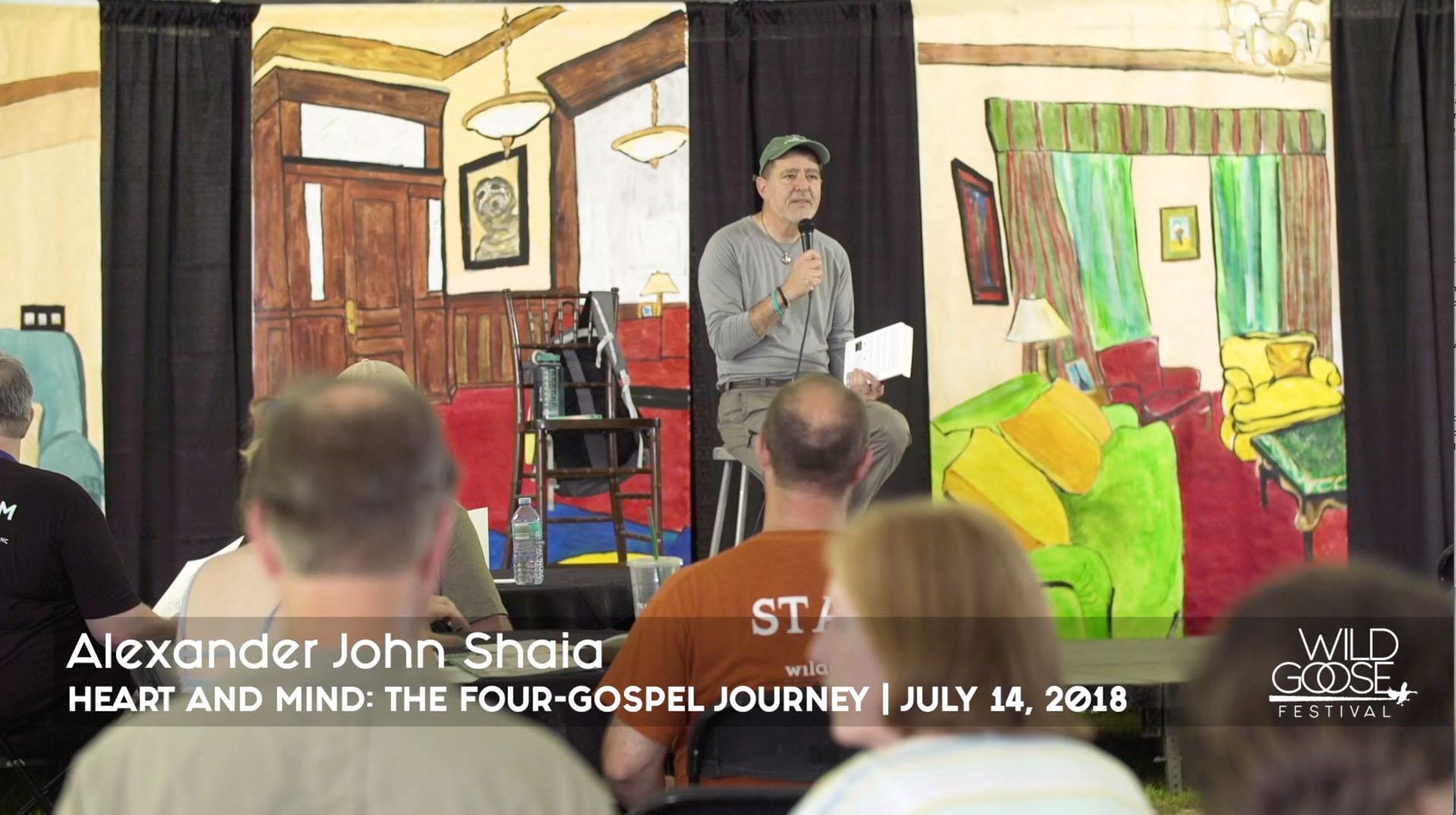 "Alexander John Shaia - ""Heart and Mind: The Four-Gospel Journey for Radical Transformation"""