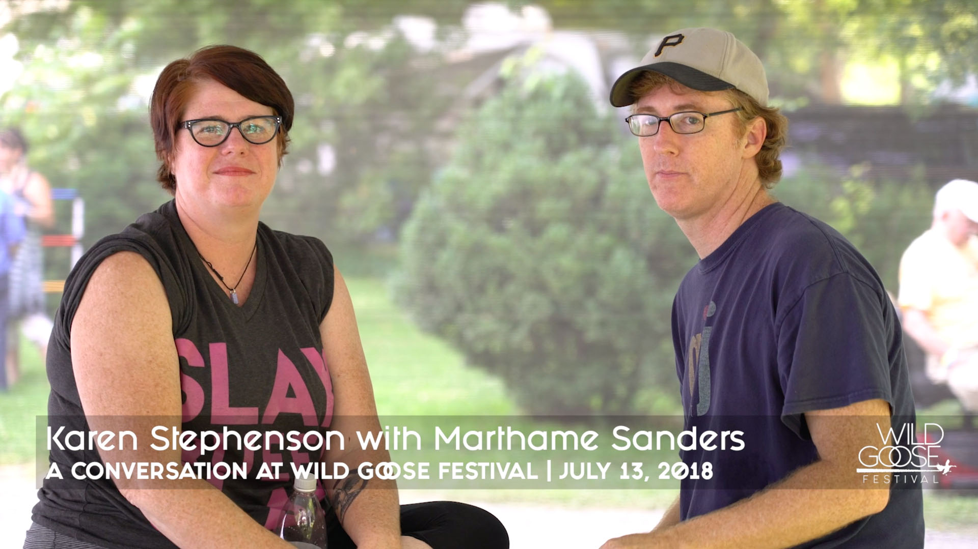 Karen Stephenson with Marthame Sanders - Atlanta Bar Church